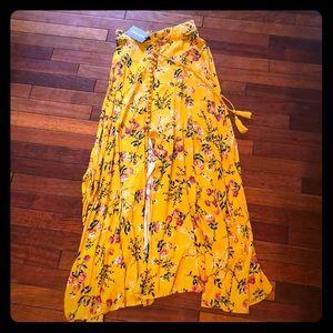 Haute Rouge Floral Maxi Skirt